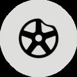 Правка литых, кованных, прокатка штампованных дисков